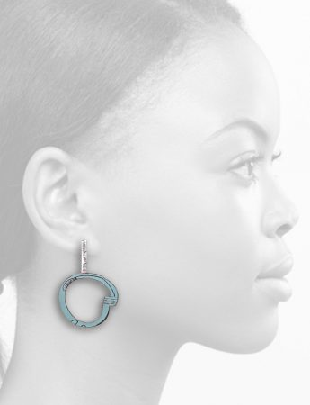 Freckles Earrings – Light Blue