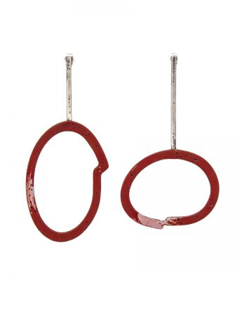 Freckles Earrings - Red