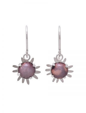 Galaxy Hook Earrings – Pink/Purple