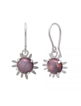 Galaxy Hook Earrings - Pink/Purple