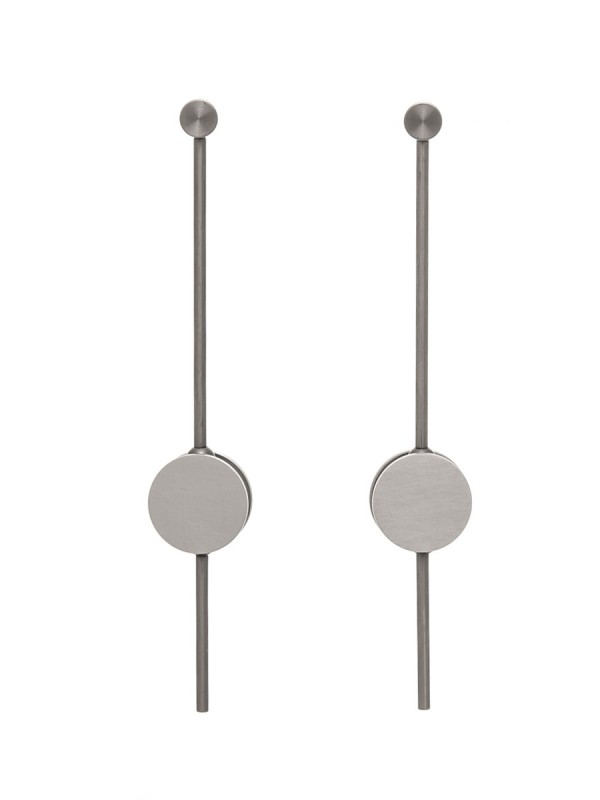 Transit Earrings – Grey