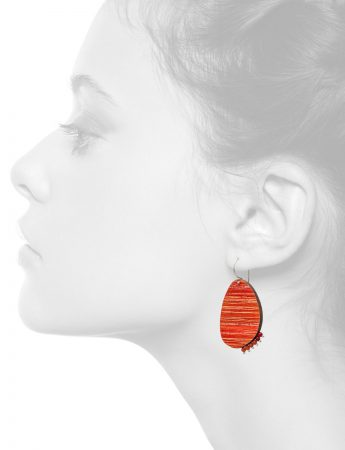 Blaze Earrings – Orange