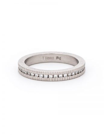Brilliant & Raw Diamonds Ring – Palladium