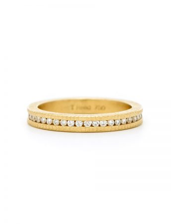 Raw & Brilliant Diamond Ring - Gold