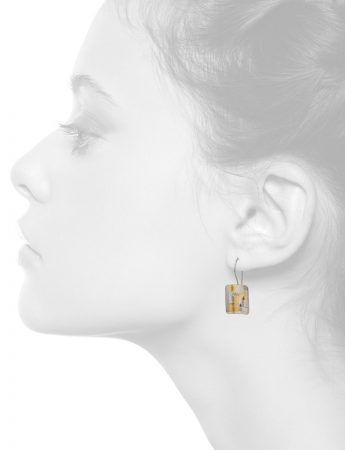 Diamond Shared Terrain Earrings – Rectangular