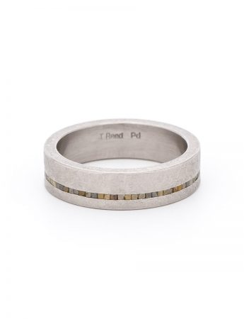 Off Centre Eternity Ring - Palladium