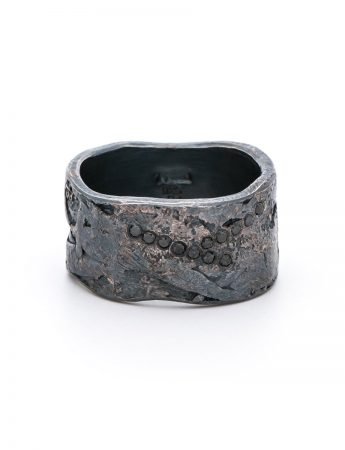 Black Diamond Ring – Silver and Palladium
