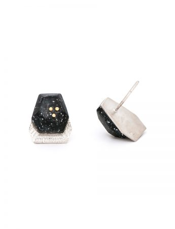 Trio Earrings - Black