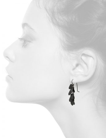 Wisteria 6 Drop Earrings – Black