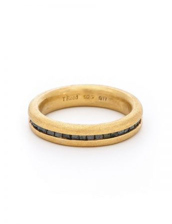 Wrapped Raw Diamond Ring – Gold