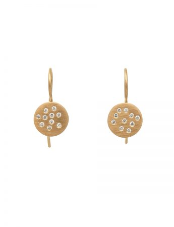 Diamond Speckled Earrings