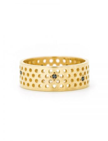 Perforation Ring - Black Diamonds