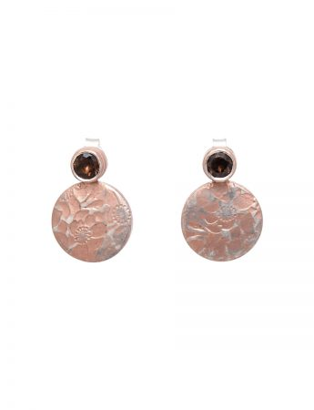 Flower Stud Earrings – Quartz