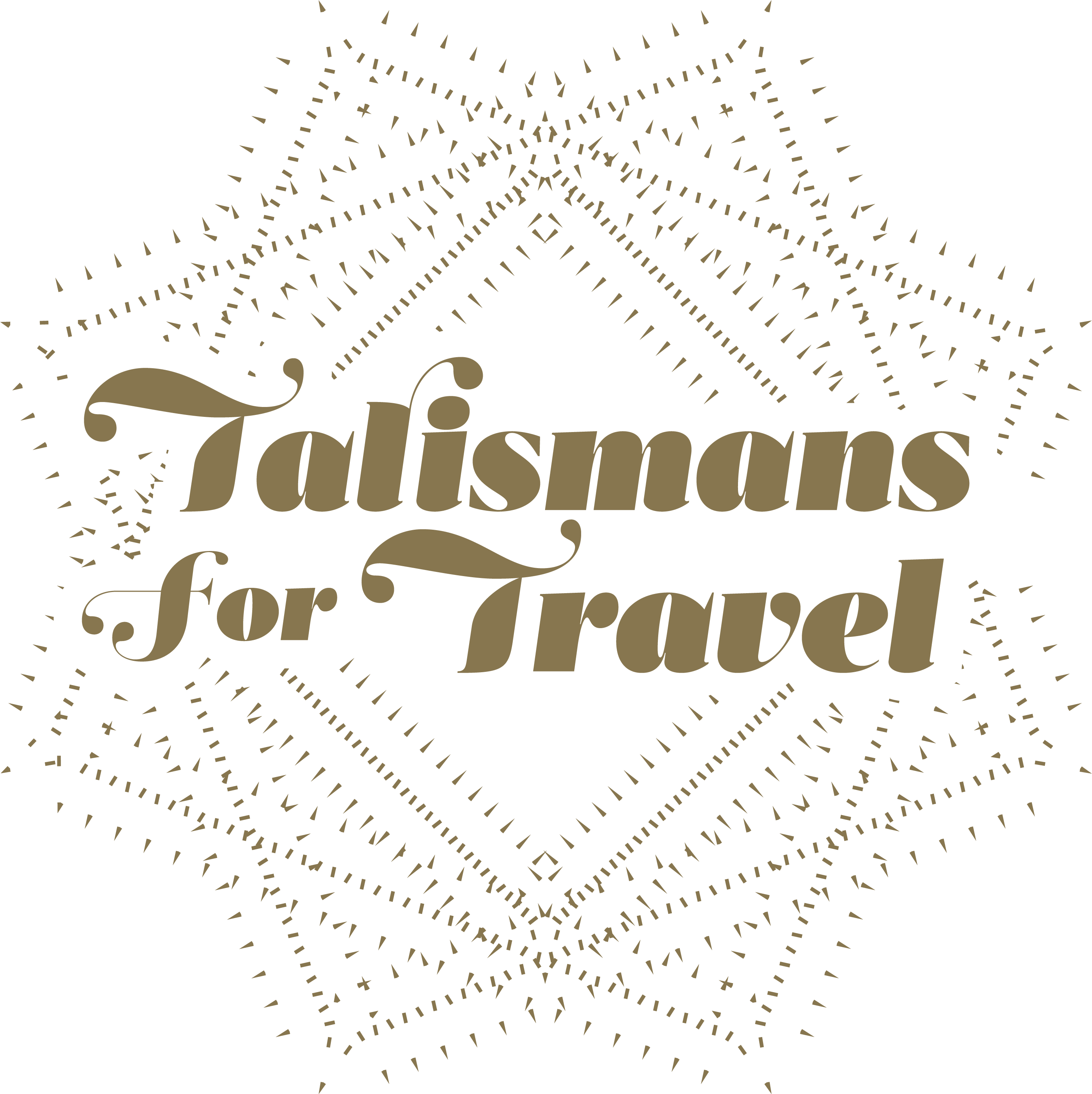 Talismans for travel logo