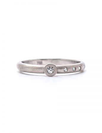 Confetti Diamond Ring - White Gold