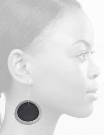 Fan Shell Layered Earrings