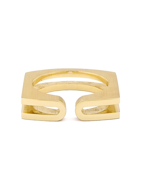 Fold Ring – Yellow Gold