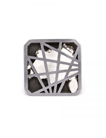 Interlace Full Square Ring