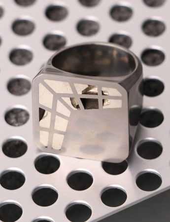 Interlace Square Ring
