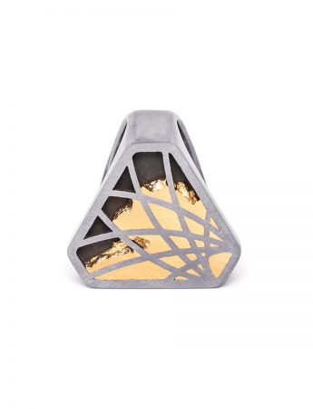 Interlace Triangle Ring