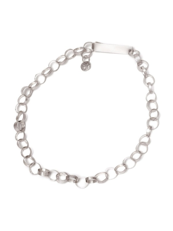 Meteora Chain Necklace – Silver