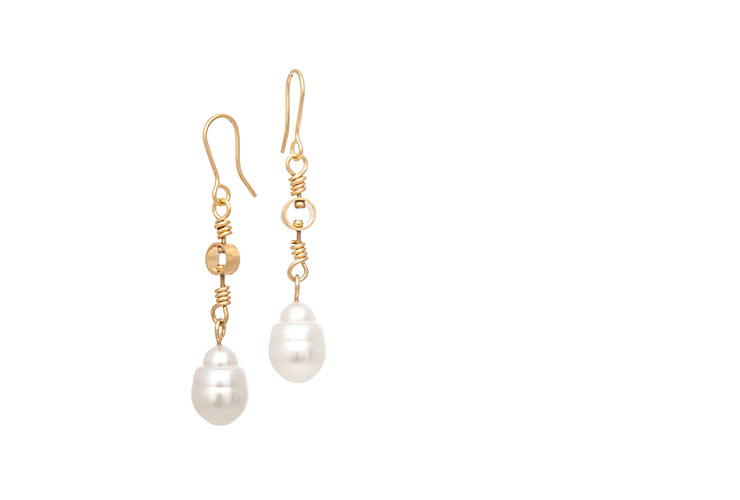 Laura Eyles Pearl Earrings - A Pearler's Life for Me