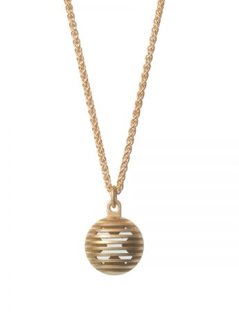 Secret Orb Pendant Necklace - Kiss