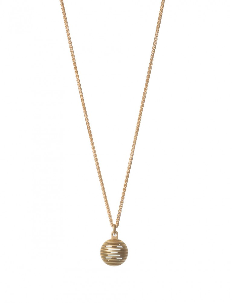 Gold Secret Orb Pendant Necklace – Kiss