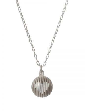 Secret Orb Pendant Necklace - Heart