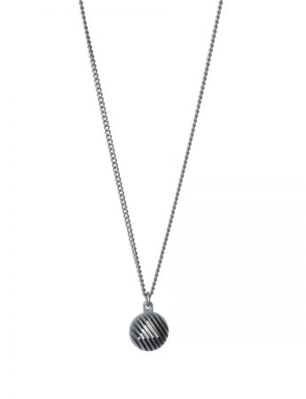 Secret Orb Pendant Necklace - Triangle