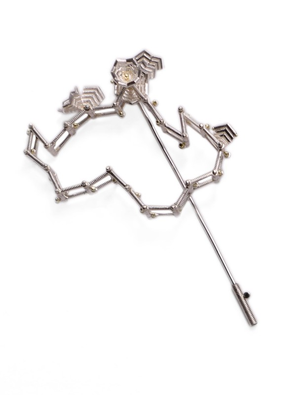 Winter Bones Pin Brooch
