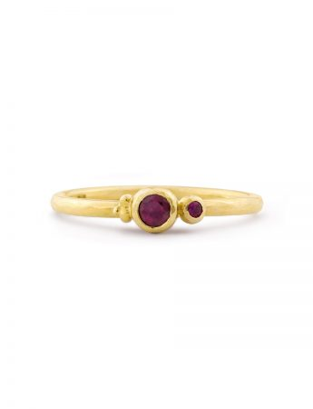 Five Berries Ring - Ruby