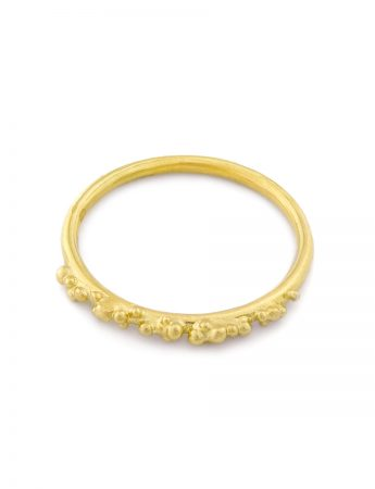Granulation Ring - Yellow Gold