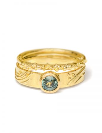 Granulation Ring – Yellow Gold