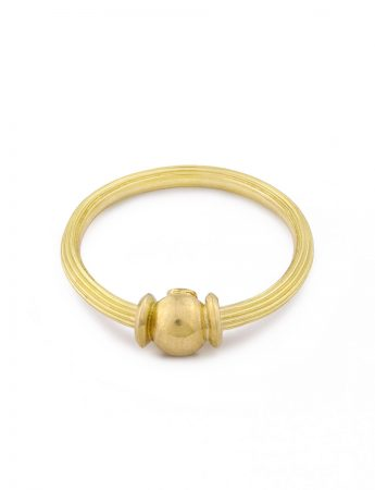 Orb Ring - Yellow Gold
