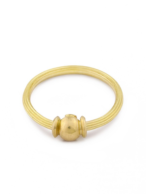 Orb Ring – Yellow Gold