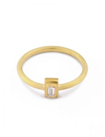 Romanesque Ring - Diamond