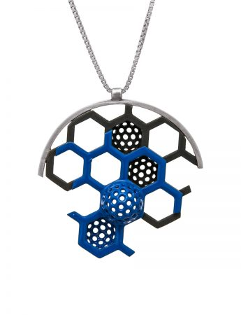 Tangent Honeycomb Necklace