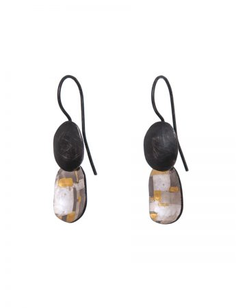 Two Piece Shared Terrain Hook Earrings