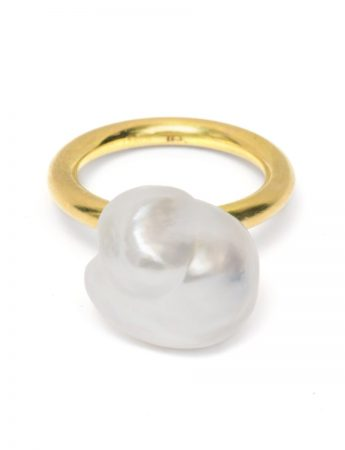 Baroque Pearl Ring #2