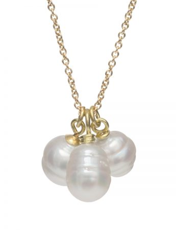 Pearl Charm Pendant Necklace