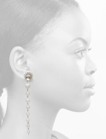Seed Blossom Drop Earrings