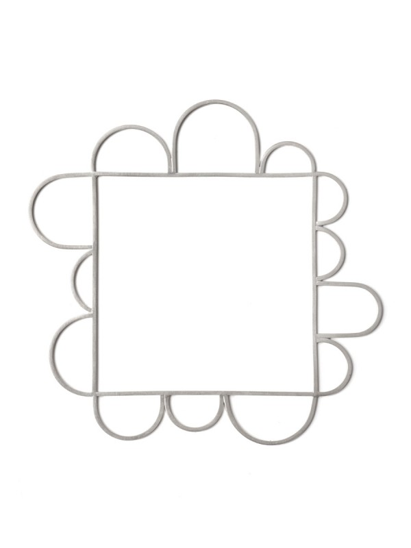 Silver Wire Square Bangle – Thirteen Arches