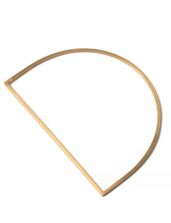 Slim D Bangle – Gold