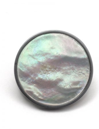 Still Water Mother Of Pearl Stud Earrings
