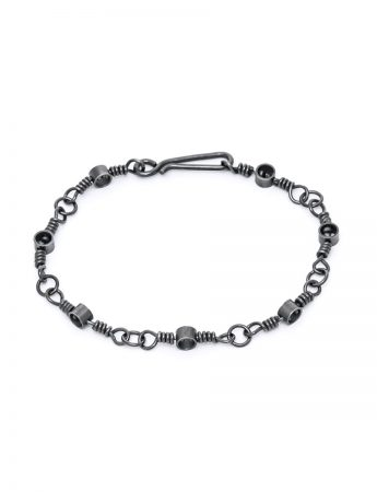 Swivel Chain Bracelet - Black