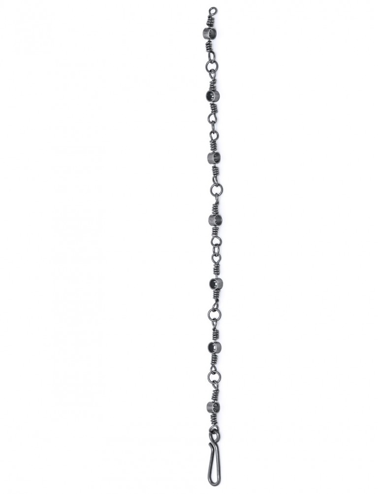 Swivel Chain Bracelet – Black