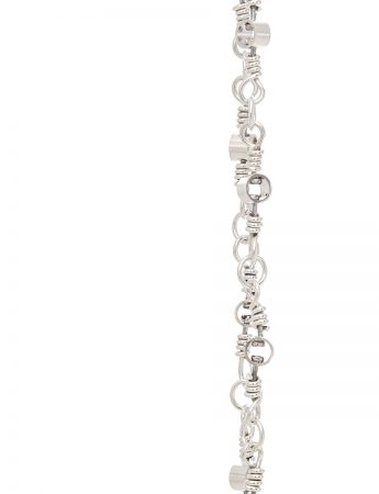 Swivel Chain Necklace - Silver
