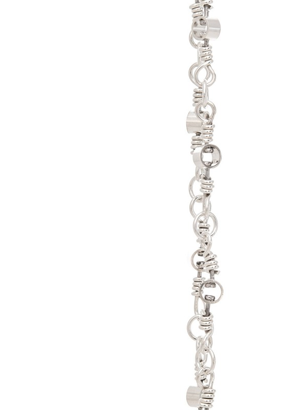Swivel Chain Necklace – Silver