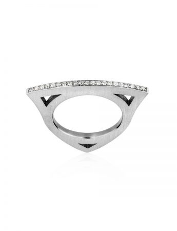 Diamond Elements Ring - White Gold